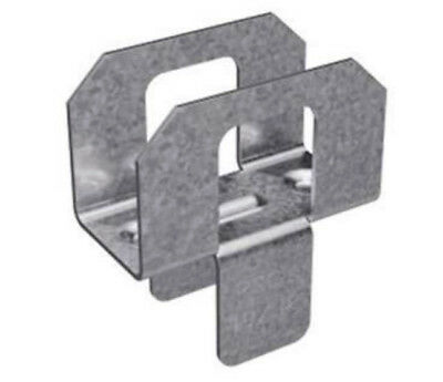 (1000) Simpson PSCL 15/32 Galvanized Plywood Panel Sheathing Clip + FREE NotePad