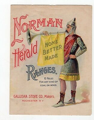 1800's Norman Stoves brochure