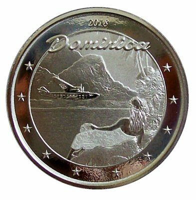 ++ The Nature Isle 2018 - Dominica - 1oz Ag / Silber - Auflage: 25.000  ++