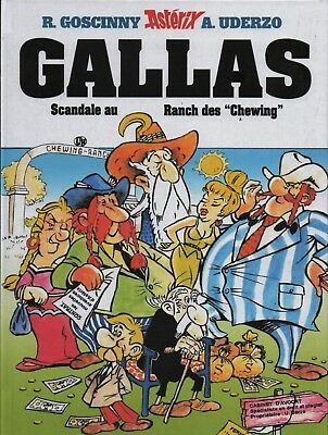 UDERZO. Astérix. GALLAS ou Scandale au ranch des Chewing. PASTICHE 2016 cartonné