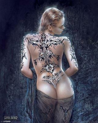Luis Royo : La Flor Del Dolor - Mini Poster 40cm x 50cm new and sealed