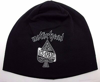 998b22db6cd MOTORHEAD BEANIE HAT printed (england) Skull Cap official music band ...