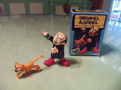 1979 Super Smurf Gargamel and Azrael Villains of Smurf Village Peyo Figures 6723