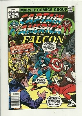 Captain America # 217 Very Fine Minus Condition!!! Affordable!!