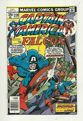 Captain America # 220 Near Mint Minus Condition!!! Affordable!!
