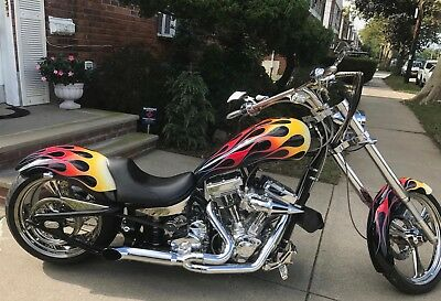 2006 Other Makes Wild West Draoon  2006 Wild West Dragoon Pro Street Custom Chopper S & S 111 Gorgeous