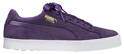 PUMA SUEDE G Womens Golf Shoes 191206-03 Majesty Majesty Ladies New ... 4464b2970