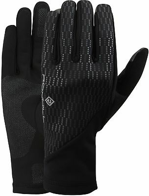 Ronhill Wind Block Running Gloves - Black