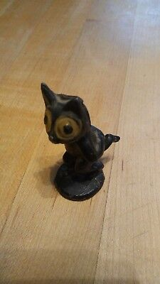 1920s Cast Iron Felix The Cat Place Card Holder FREE SHIPPING