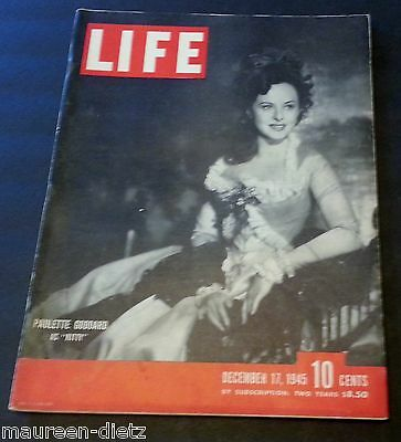 December 17, 1945 LIFE Magazine History 40s advertising FREE SHIPPING Dec 16 12