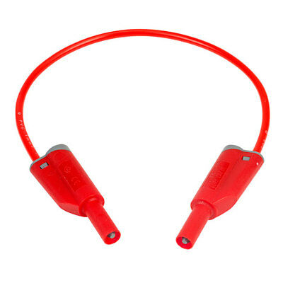PJP 2612-IEC-25R 25cm Red Stackable Safety Lead
