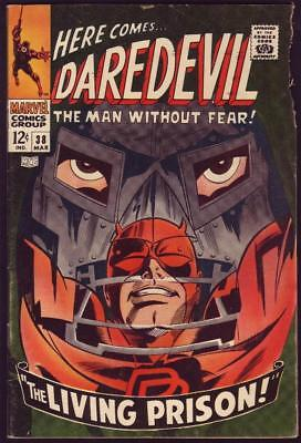 Daredevil #38 Art by Gene Colan G 2.0
