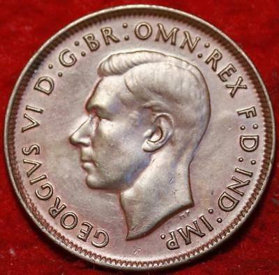 Uncirculated 1943 Australia Penny  Foreign Coin