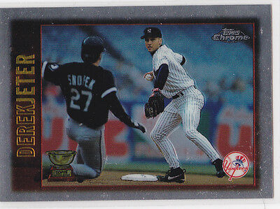 Derek Jeter 1997 Topps All Star Rookie Cup Base Card 13