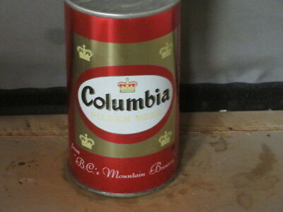 Columbia Beer. Real Beauty. Bo Ss. From Cranston Bc. Canada