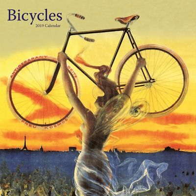2019 Bicycles 2019 Wall Calendar, Cycling by Catch Publishing