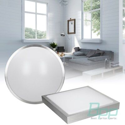 LED round square recessed ceiling flat panel down light lighting panel 12W 36W