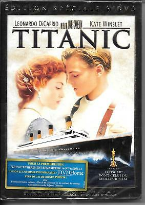 2 DVD ZONE 2 COLLECTOR--TITANIC--DiCAPRIO/WINSLET/CAMERON--NEUF
