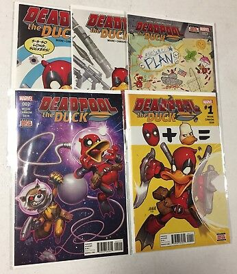 DEADPOOL THE DUCK #1, 2, 3, 4, 5 - Marvel Comics