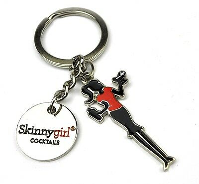 Skinny Girl Cocktails USA Metall Schlüsselanhänger Keychain Key Chain Ring