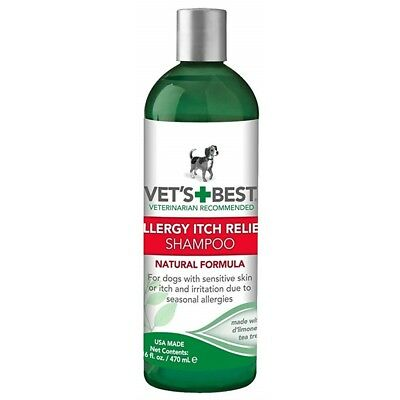 Vets Best Allergy Itch Relief Shampoo 470ml - Dog 470ml