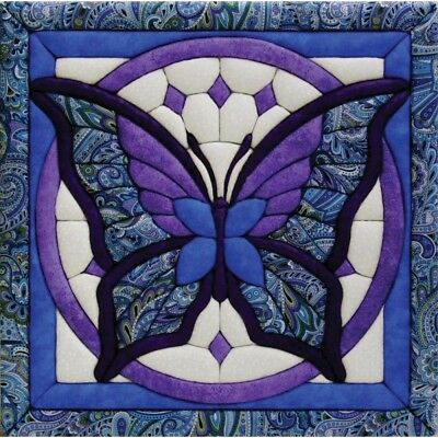 Wall Quilt Kit Butterfly - Magic 12 x 12inch Flower