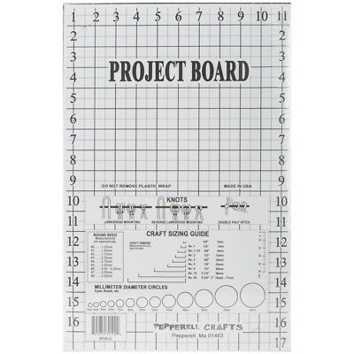 Pepperell 217984 Makramee Projekt Board-12 In. x 17.5 In. - Macrame Project