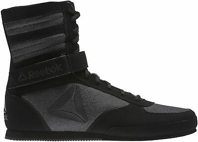 Reebok Mens Boxing Shoes Black Martial Arts Combat Boots