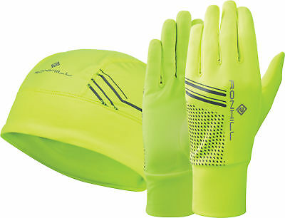 Ronhill Beanie And Glove Set - Yellow
