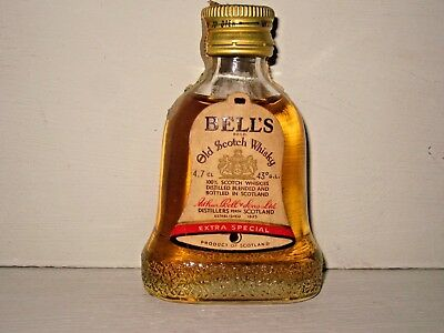 miniature mignon whisky BELL'S extra special