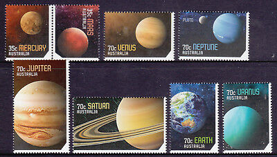 2015 Our Solar System - MUH Complete Set of 8 Stamps