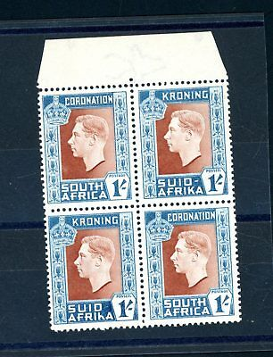 South Africa  1937  Coronation 1s  SG 75A Hyphen Omitted  unmounted MINT (S1025)