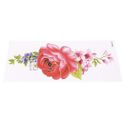 Sexy Women Large Flowers Floral Series Waterproof Temporary Fake Tattoo Body BS