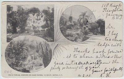 Jamaica, AK Castleton Garden Kingston - New York 1905