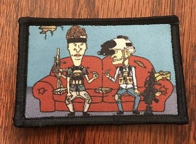 Tactical Beavis and Butt-head  Morale Patch Tactical Military Army