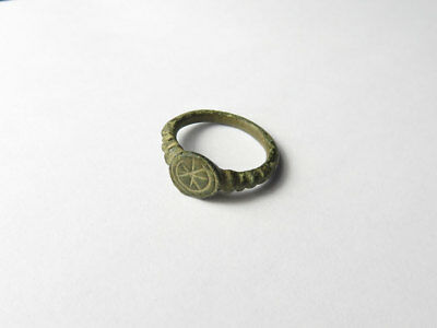 Ancient Bronze Ring 22mm