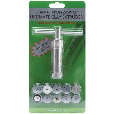 Makin's Usa Stainless Professional Ultimate Clay Extruder-stainless Steel -