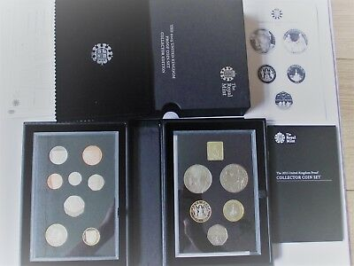 UK Royal Mint 2015 proof coin set Collector Edition