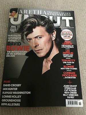 UNCUT  Magazine  November  2018  DAVID BOWIE  ARETHA FRANKLIN  LENNON  LED ZEP