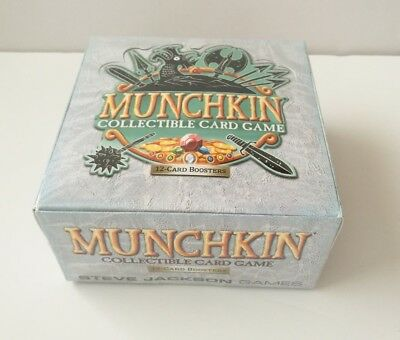 Munchkin Collectible Card Game Booster Box NEW