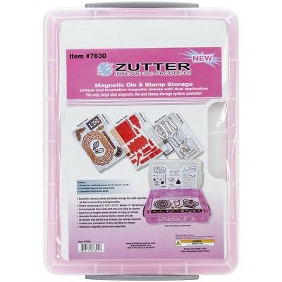 Magnetic Storage Clear - Zutter Die Stamp 3 Spellbinder Cling Packs