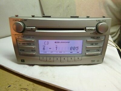07 08 09 Toyota Camry JBL Radio 6 2007 toyota camry jbl sound system 2007 2011 camry chinese android