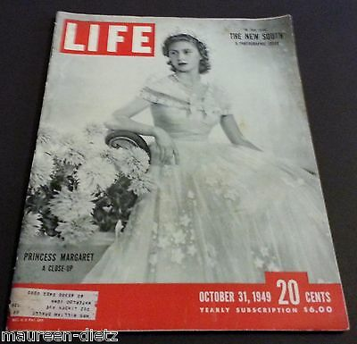 October 31, 1949 LIFE Magazine Old Ads, FREE SHIPPING Oct 10 '49 30 29 28 27 26