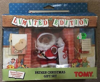 Tomy Sylvanian Families Limited Edition Father Christmas Gift Set 1991