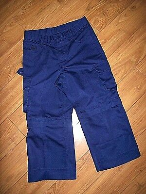 Boy Scouts Of America-Youth Cub Scout Switchback Blue Pants/shorts-Sz 10-Nice