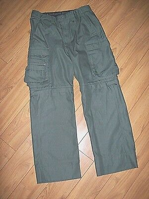 Boy Scouts Of America-Mens Boy Scout Switchback Green Pants/shorts-Measure 32X30