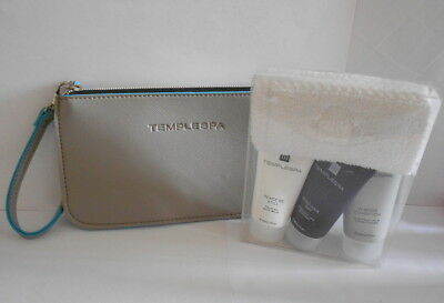 Temple Spa Gift Set PEACE BE STILL, GOOD HAIR DAY + CONDITION & Wrist Purse NEW
