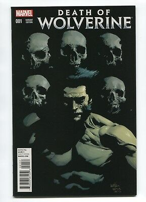 2014 Marvel Death Of Wolverine #1 Leinil Francis Yu 1:50 Variant Nm 9.4 D3