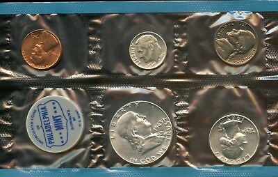 Amazing 1963-P Uncirculated United States Mint Coin Set w/out Envelope GR694