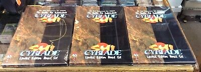 3 / Sealed Cyblade Shi Limited Edition Boxed Set - 2 Signed By Marc Silvestri
